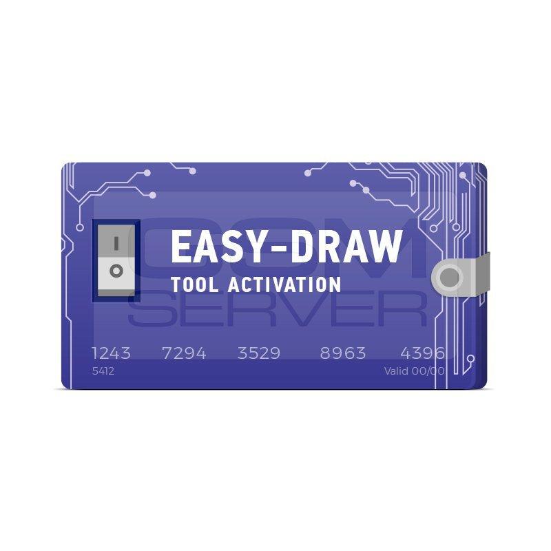 ٍاکتیویشن Easy Draw .نمایش شماتیک بورد تلفن های همراه