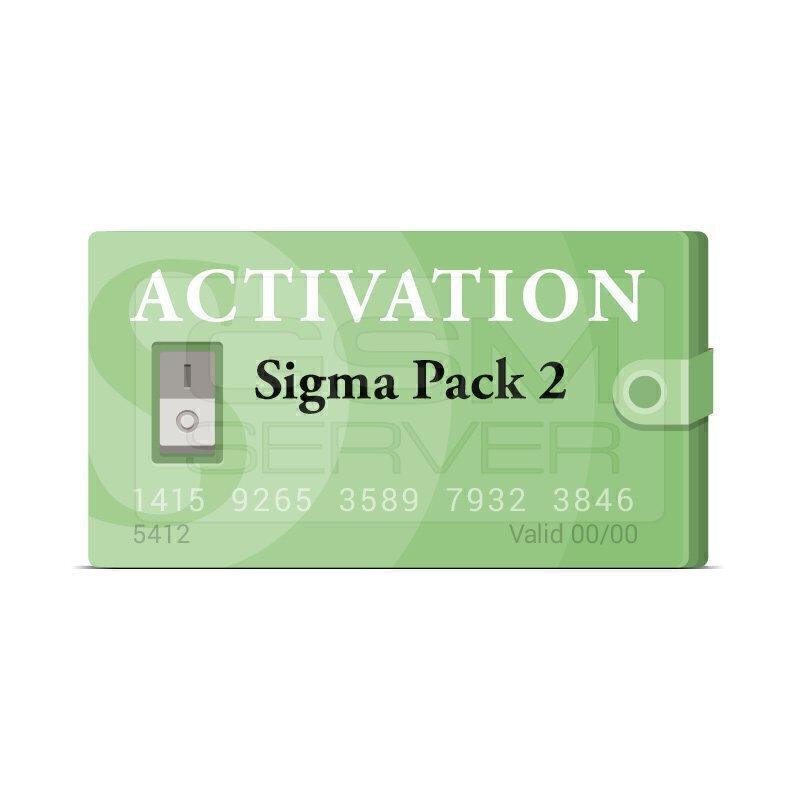 اکتیویشن باکس سیگما sigma پک 2 |سافت موبایل