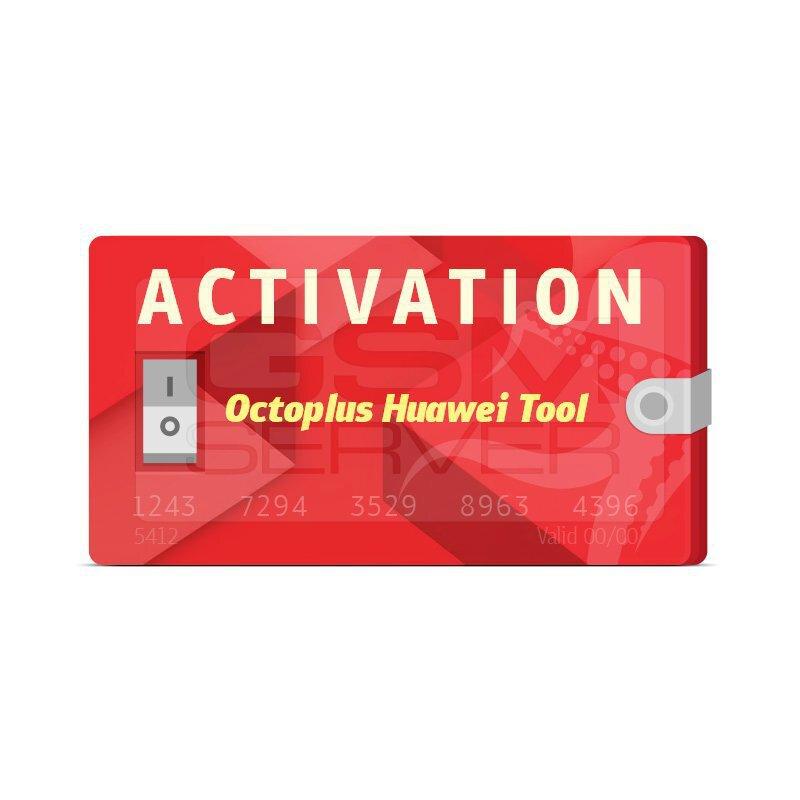 اکتیویشن Octoplus Huawei Tool