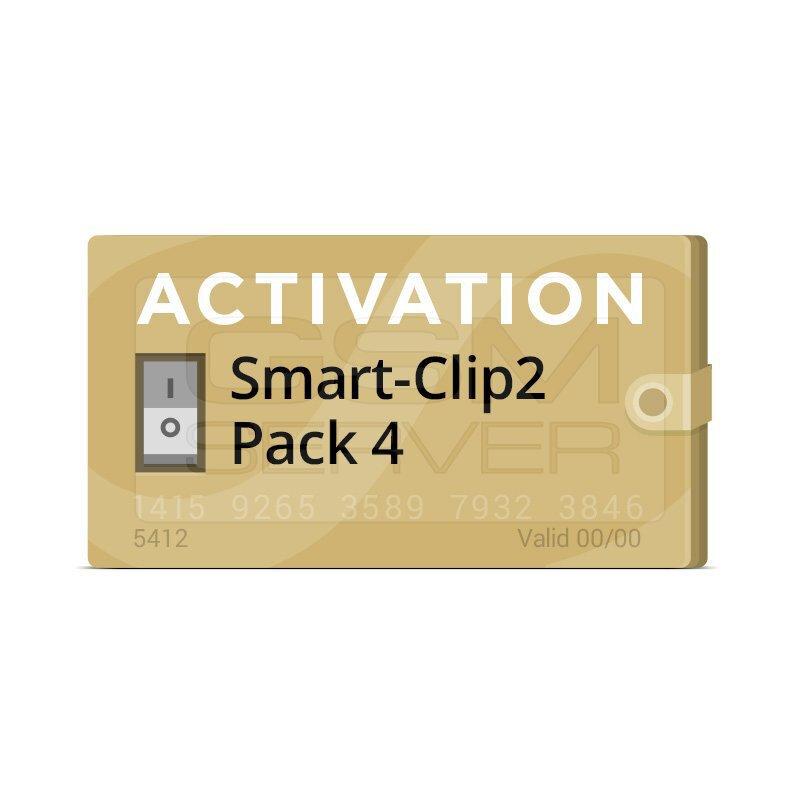 اکتیویشن باکس Smart-Clip2 پک 4