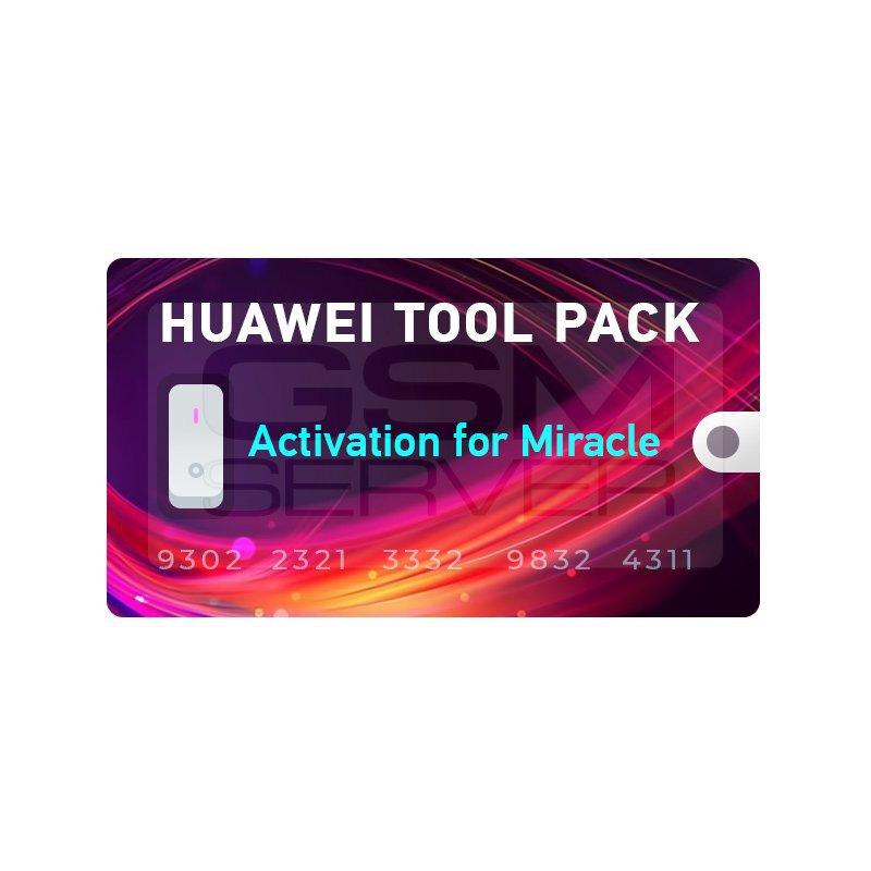 اکتیویشن Huawei برای باکس میراکل