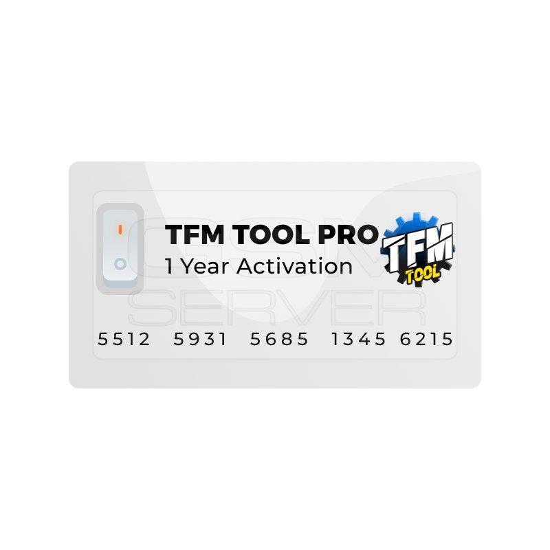 لایسنس یکساله ی TFM Too Pro