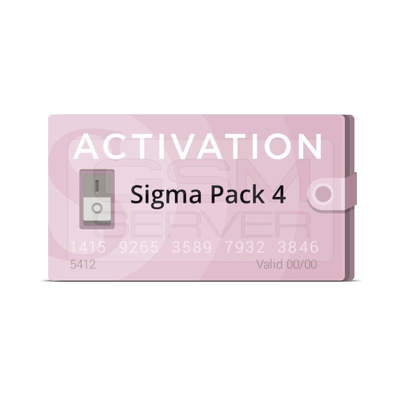 اکتیویشن باکس سیگما sigma پک 4 |سافت موبایل