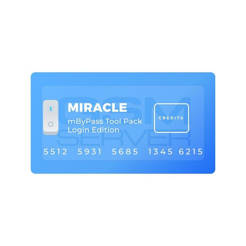 کردیت miracle mBypass Tool (حذف آیکلود)