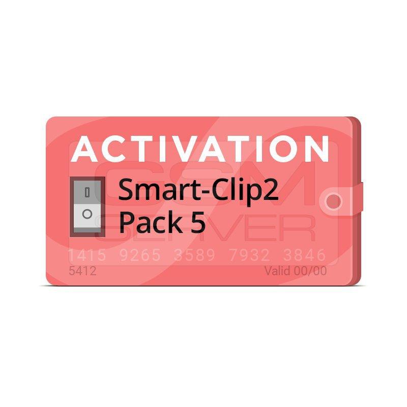 اکتیویشن باکس Smart-Clip2 پک 5