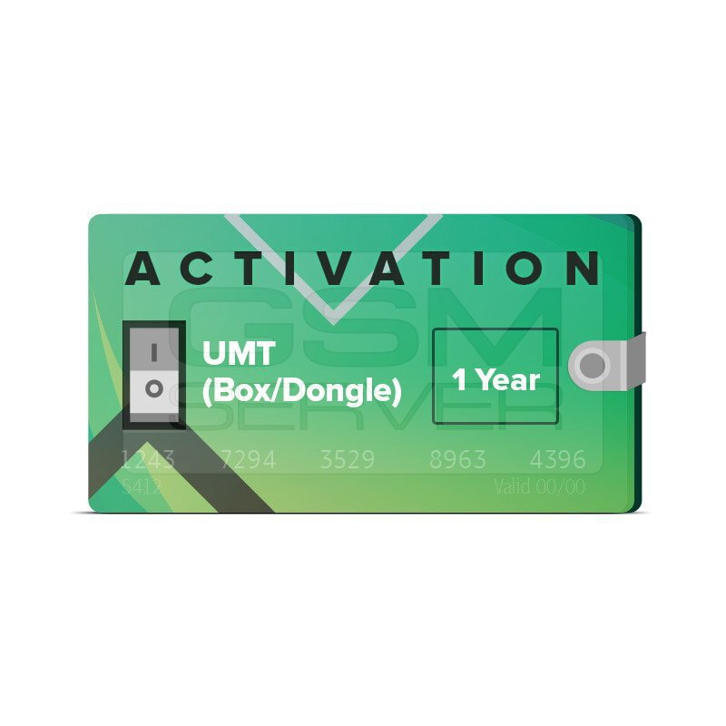 Activation for UMT Dongle
