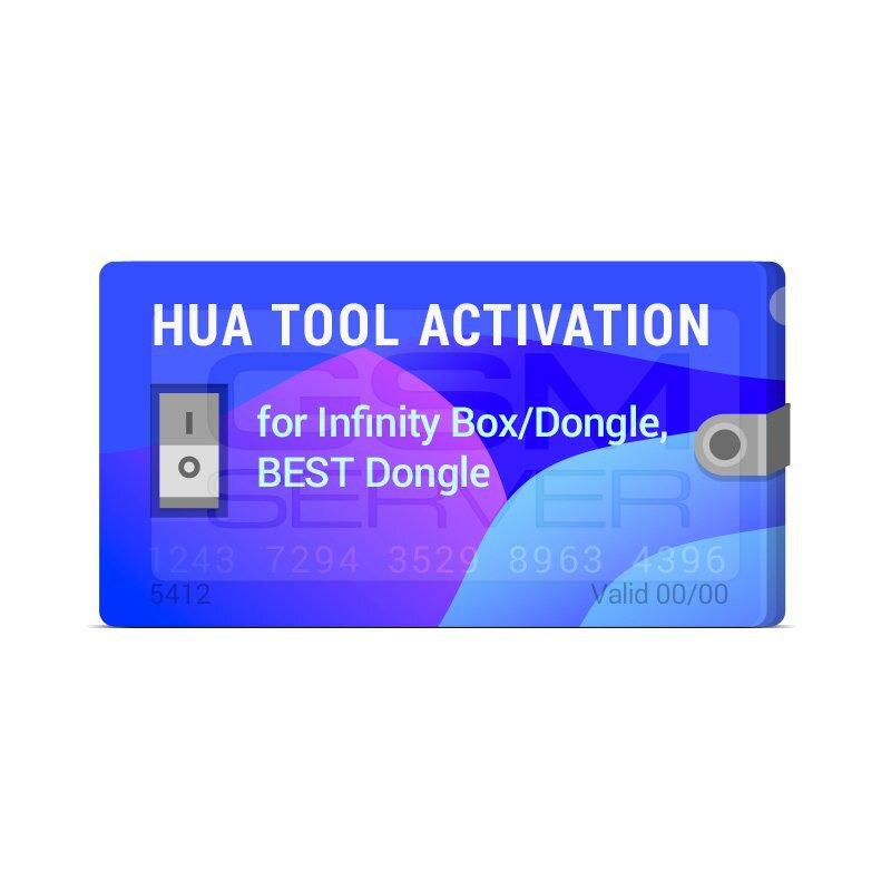 اکتیویشن HUA برای دانگل CM2