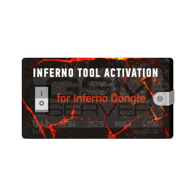 اکتیویشن inferno tool برای دانگل inferno