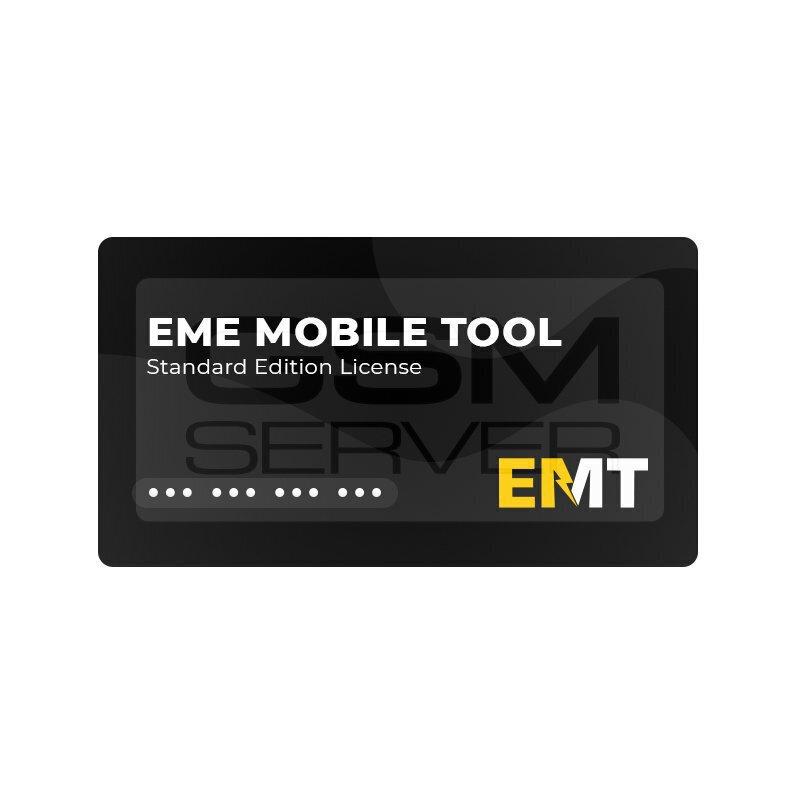 لایسنس نرم افزار EMT Standard Edition