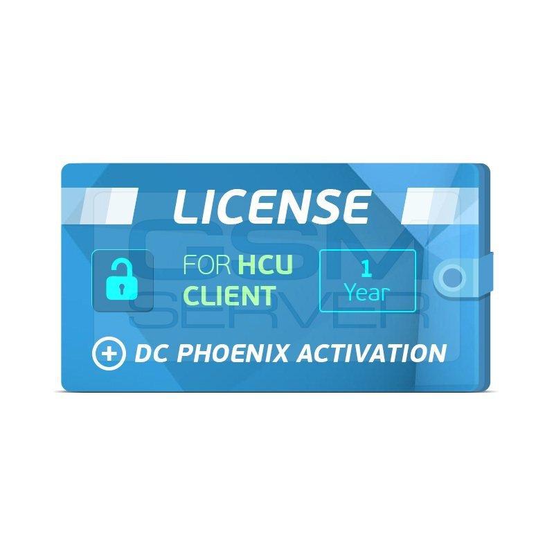 اکتیویشن 1 ساله HCU Client+DC PHOENIX