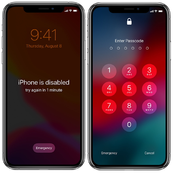 iCloud Remove From Passcode And Disable Device