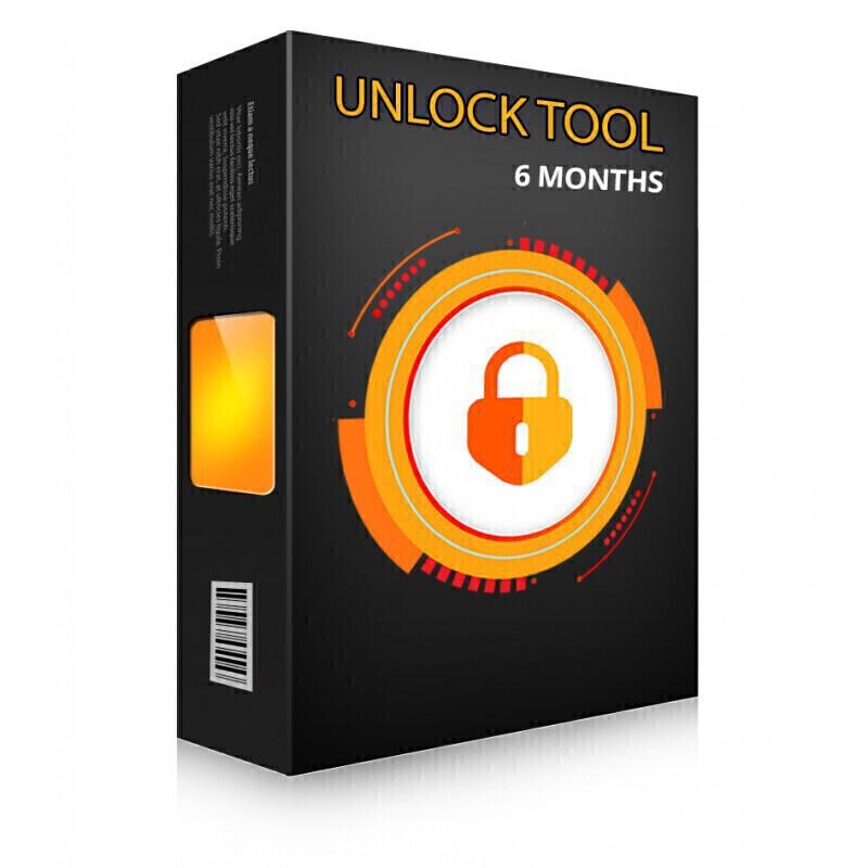 لایسنس 12 ماهه Unlock Tool|سافت موبایل