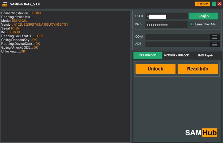 کردیت حذف FRP برای SAMHub سام هاب