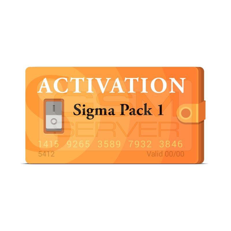 اکتیویشن باکس سیگما sigma پک 1|سافت موبایل
