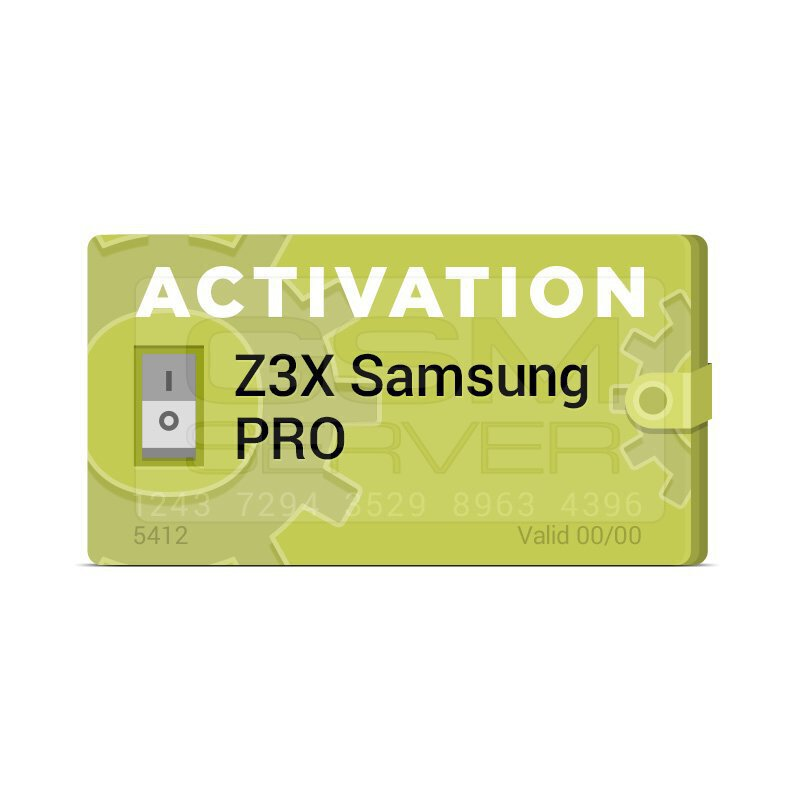 اکتیویشن آپدیت باکس Z3X به Samsung Pro