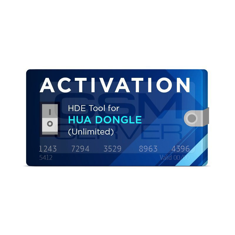 Active HDE Tool for HUA Dongle